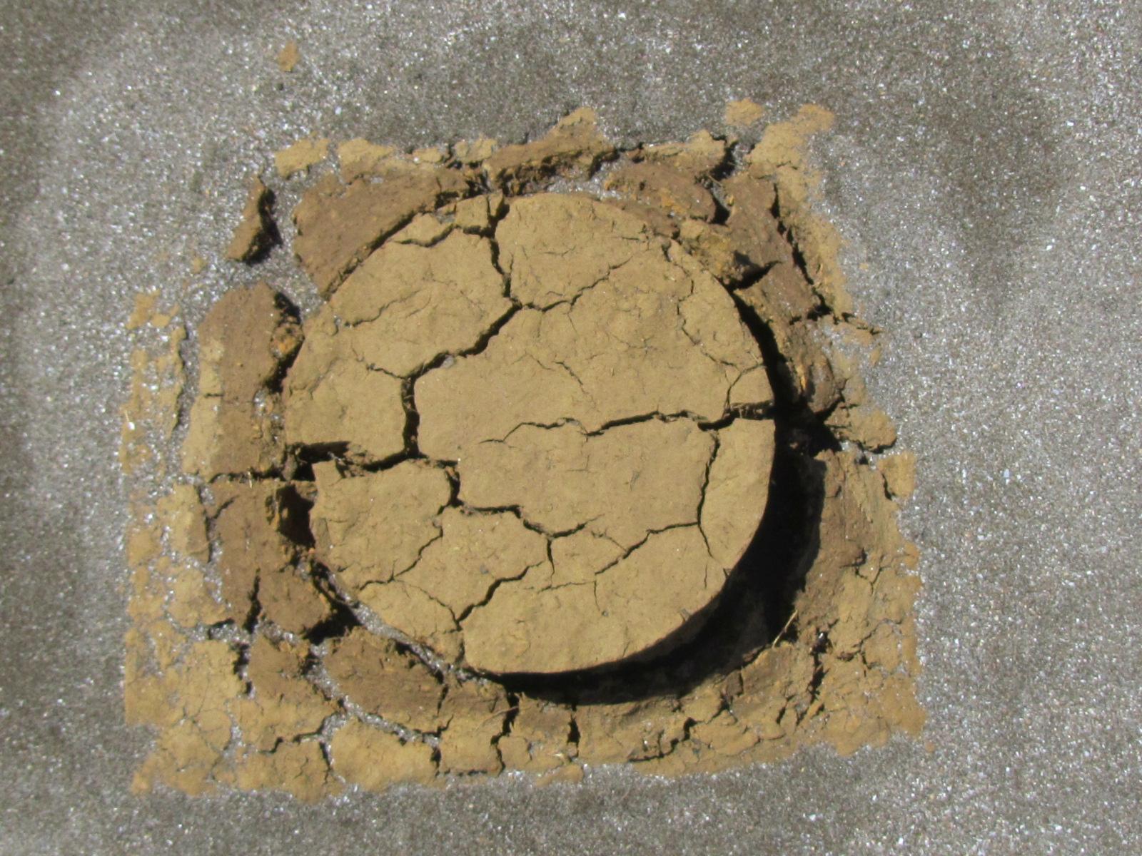 micro-soilism - 2011 - soil; PVA; sand