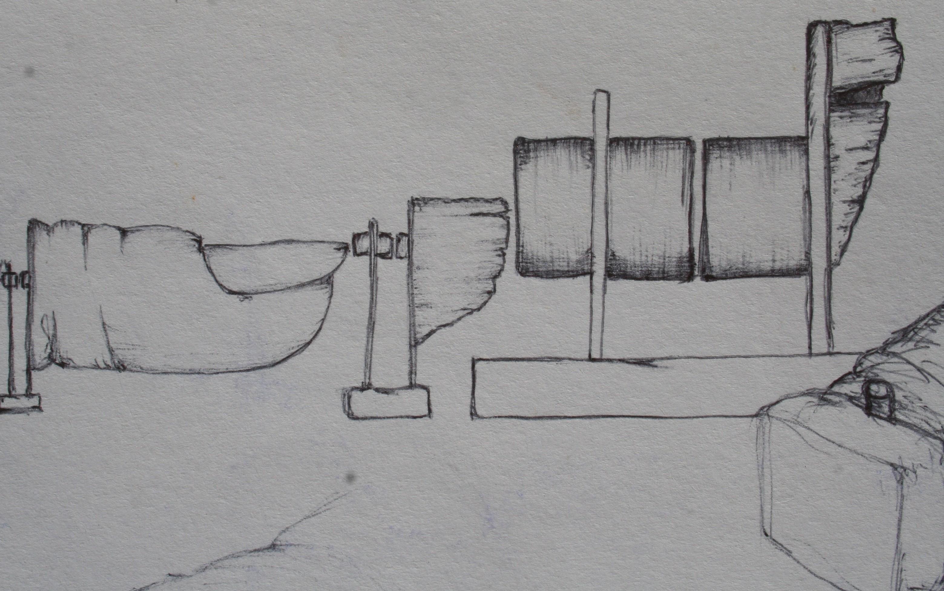 human contact - 2011 - pen; paper