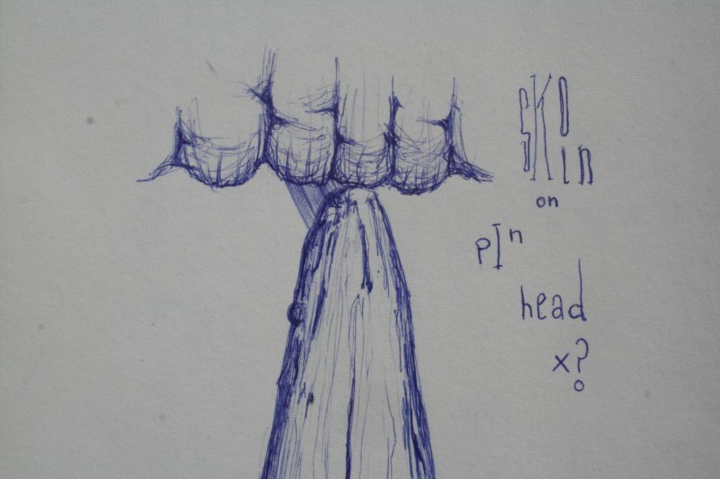 nerve - 2008 - pen on paper