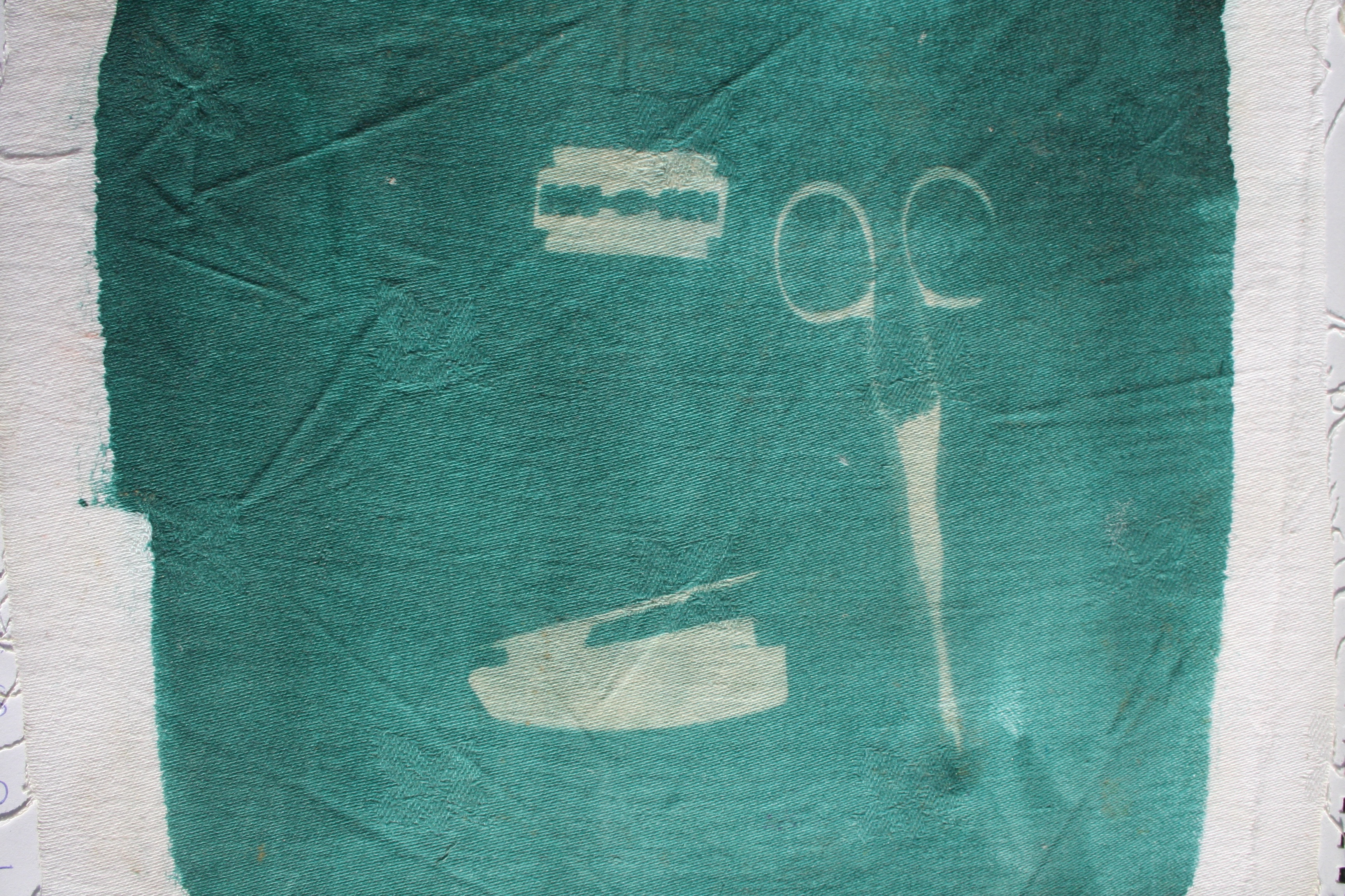 print #35 - 2009 - photosensitive paint on cotton