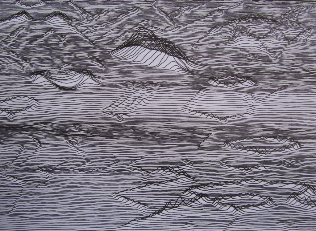 ink forms - 2011 - ink; paper